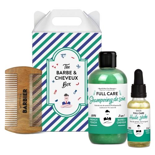 Coffret Cadeau Grooming Barbe et Cheveux pour Hommes - Monsieur BARBIER