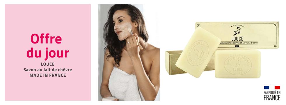 2 coffrets savon lait de chèvre imperfection fabriqués en France