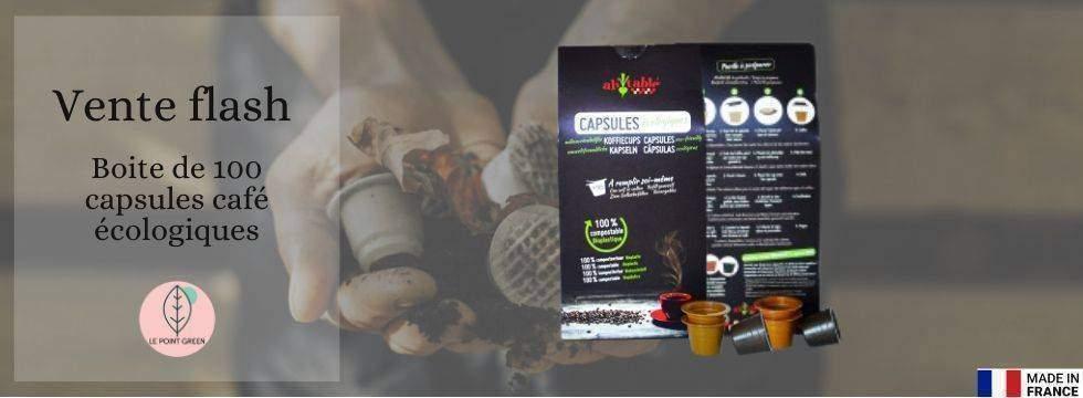 Capsules à café écologiques et compostables