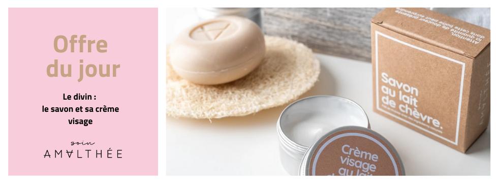Kit crème + savon à gagner