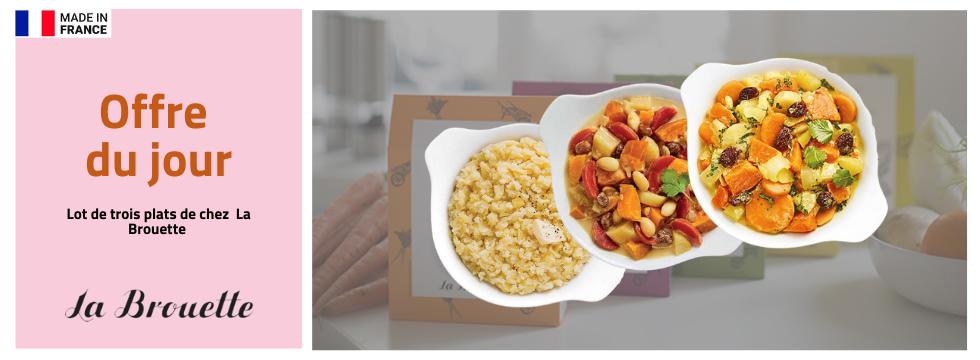 Dégustez des plats délicieux avec La Brouette !