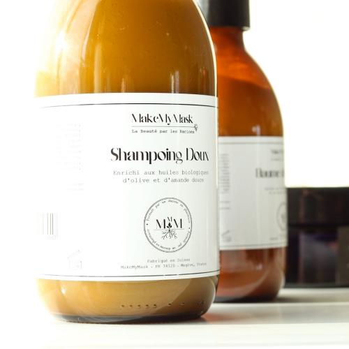 Shampoing Doux Naturel - MakeMyMask