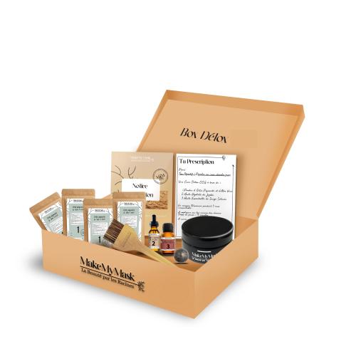 BOX DETOX - Kit DIY pour Masques Capillaires- MakeMyMask
