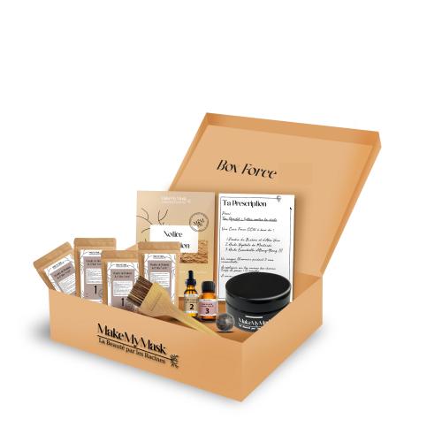 BOX FORCE - Kit DIY pour Masques Capillaires - MakeMyMask