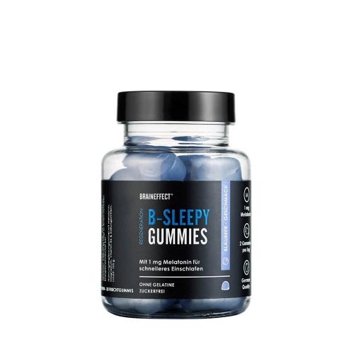 B-SLEEPY, gummies avec mélatonine, 15 portions - Braineffects