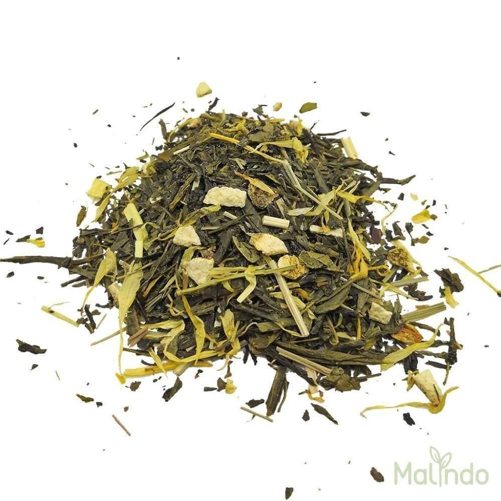 Mojito Bio Thé Vert - menthe citronnelle Bio 50g -
