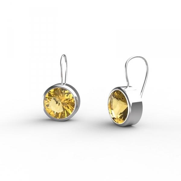 Gagnez des boucles d'oreilles Bouton d'or