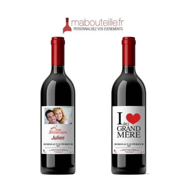 Personnalisez vos bouteilles de vin avec Mabouteille.fr !