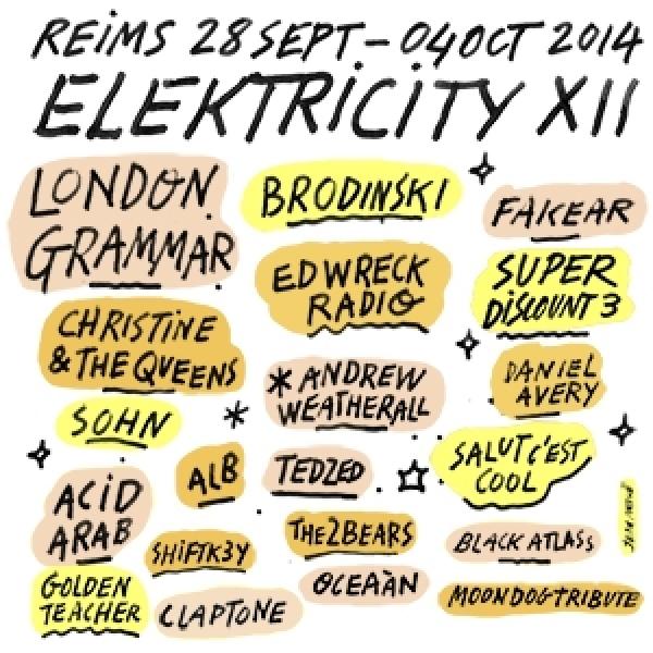 Le festival Elektricity vous présente sa 12ème édition qui s'annonce gargantuesque !