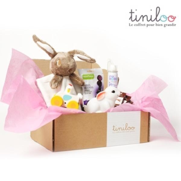 Découvrez Tiniloo, la box réservée aux futures mamans et aux tout-petits !