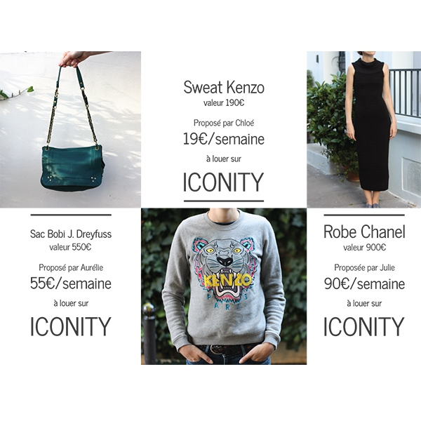 ICONITY, le dressing collaboratif en ligne