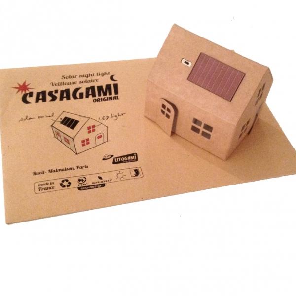 CASAGAMI, les mini-veilleuses Solaires  design, à monter soi-même !