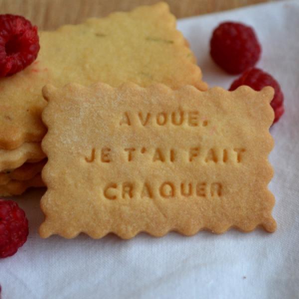 Des biscuits plein d'amour pour votre Valentine ou Valentin !