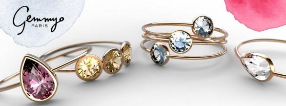 Gagnez une bague Lady sur mesure, choisissez l'or et la pierre de votre choix !