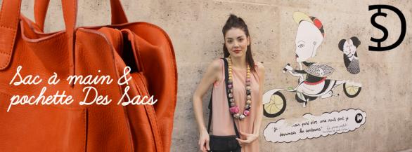 Gagner un sac à main ou une pochette cuir de la marque Des Sacs
