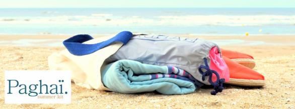 Découvrez l'audacieux Summer Kit pour être impeccable sur la plage.