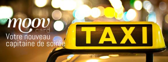 Moov'card, n'attendez plus le taxi