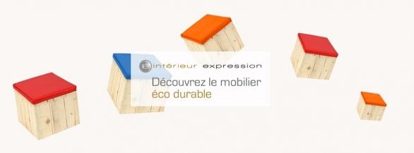 Esthétique, Design et Eco-durable, le Canapé Baliveau en Bois recyclé