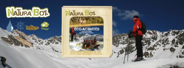 Découvrez les coffrets NaturaBox: Une petite boite, un grand bol de vert !