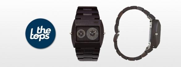 Découvrez la montre en bois sélectionné par TheTops