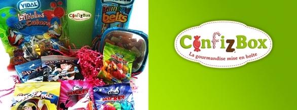 ConfizBox la bôite à bonbons surprise par abonnement