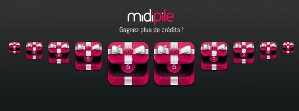 Doublez vos chances de gagner : 50 crédits Midipile à remporter !