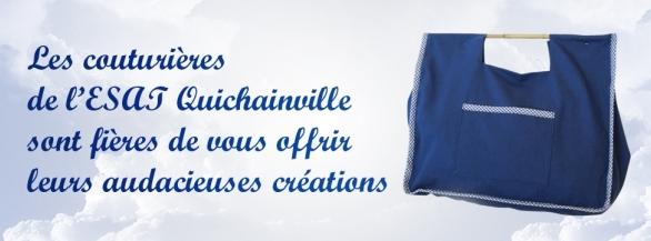 Remportez le sac 100% tendance des couturières de l'ESAT Guichainville !