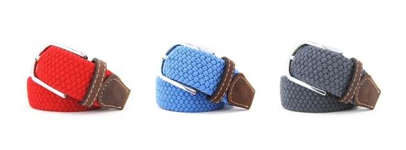 Les ceintures BILLYBELT pour un été enfin coloré !  tressées élastiques et mixtes !