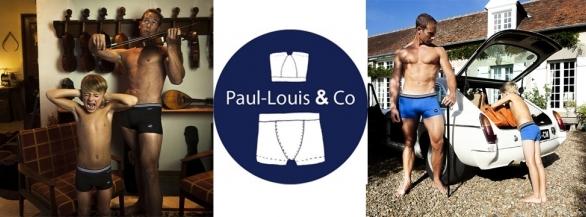 Paul-Louis & Co, des sous-vêtements identiques pour les pères et leurs fils !