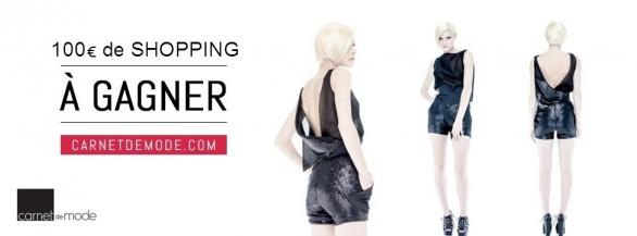 100€ de shopping au temple de la mode : Carnet de Mode !