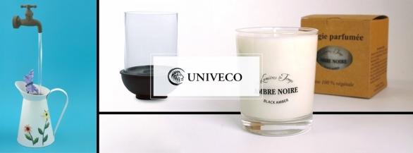 Pour le jeudi déco, Univeco présente 1 fontaine magique et 1 bougie parfumée !