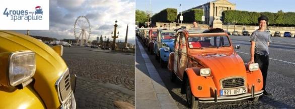 Remportez une visite inoubliable de Paris en 2CV !