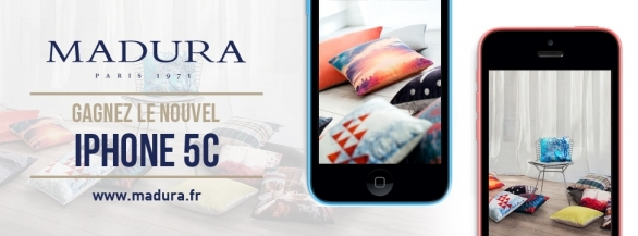 Remportez un IPhone 5C avec la marque de déco Madura !