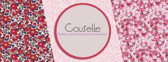 Découvrez la sélection de tissus proposés par Cousette !