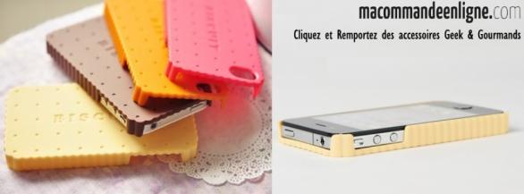 Découvrez la sélection exclusive d'accessoires IPhone & Gourmands Macommandeenligne !