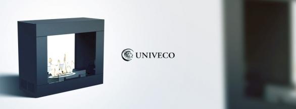 Découvrez la cheminée Colombia Black de Univeco !
