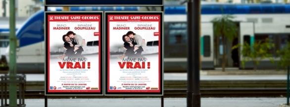 Remportez des places pour Même pas Vrai, au Théâtre Saint-Georges !