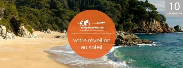 Fêtez la Nouvelle Année sur la Costa Brava avec Voyages-Auchan !