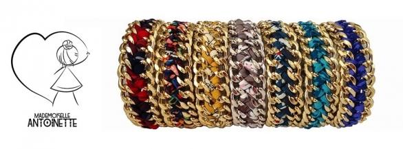 Découvrez les bijoux chics & colorés de Mademoiselle Antoinette !