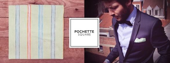 Ayez le sens du détail avec Pochette Square !