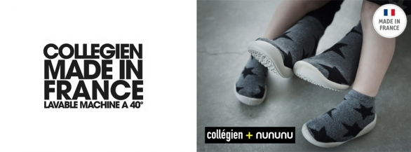 Découvrez les chaussons Made In France Collégien !