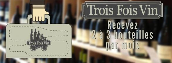 Pour la Saint-Valentin, gagnez une box Trois Fois Vin !