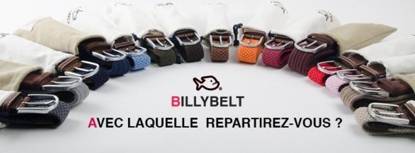 reDécouvrez BILLYBELT : les ceintures Pratiques, Colorées & Unisexes !