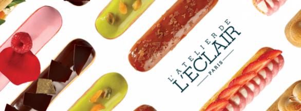 Faites vous plaisir avec les gourmandises signées l'Atelier de l'Eclair !