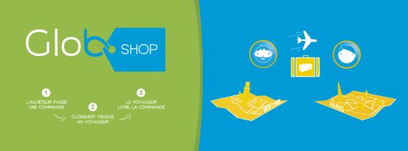 Faites vos courses à l'étranger avec Globshop !