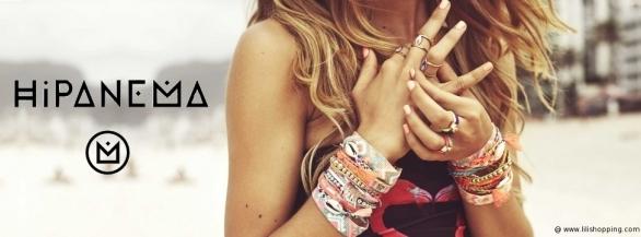 Lili Shopping, eshop de bijoux et fantaisies de luxe, vous présente Hipanema !