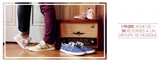 Découvrez Fasola : les célèbres chaussures qui financent la musique !