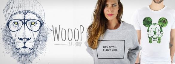 Découvrez Wooop : les vêtements et accessoires issus de collaborations artistiques !