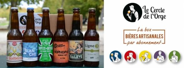 Le Cercle de l'Orge sélectionne pour vous chaque mois les meilleures bières artisanales !
