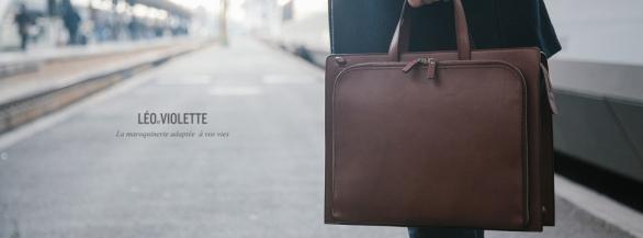 Léo et Violette : la nouvelle marque de maroquinerie à l'esprit minimaliste et élégant !